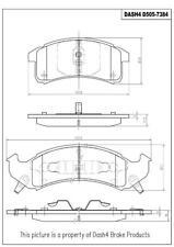 Dash 4 Brake CD505 Front Ceramic Brake Pads