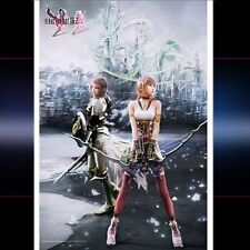 Final Fantasy XIII - 2 Wall Scroll: Serah & LIGHTNING
