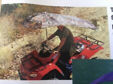Blue  ...umbrella for ATVs,BOATS,,PERSONAL WATER CRAFT ,RIDING MOWERs