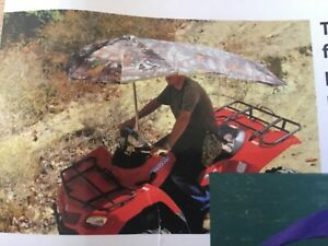 Green  ...umbrella for ATVs,BOATS,,PERSONAL WATER CRAFT ,RIDING MOWERs