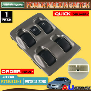 Main Master Electric Window Switch for Mitsubishi Magna TL TW 2003-2005 MR932795