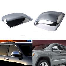 82212218 For Jeep Grand Cherokee 11-18 Door Mirror Cap-Chrome Mirror Cover Pair