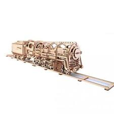 UGEARS Locomotive Mechanical 3D Puzzle Eco Toys by