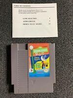 SESAME STREET 1-2-3 - NINTENDO NES - GAME & MANUAL - FREE S/H - (N5)