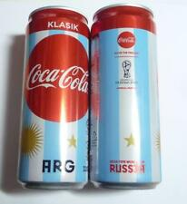 COCA COLA Coke Can MALAYSIA 330ml FIFA World Cup RUSSIA Collect 2018 ARGENTINA