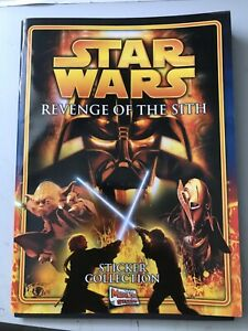 Star Wars Revenge of The Sith sticker album 2005 - unused, with poster & 6 cards