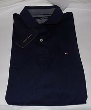NWT MENS TOMMY HILFIGER S/S POLO SHIRT~NAVY~LRG