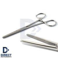 Hemostat Pean Forceps 5.5'' Surgical Haemostatic Locking Pliers Oral Surgery New