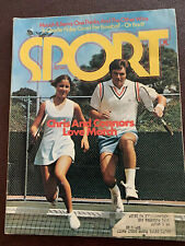 Sport Magazine July 1974 With Evert & Connors Plus Charlie Finley And More - Vg
