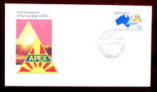 FOUNDATION OF APEX 50th ANNIVERSARY FIRST DAY COVER - IN EXCELLENT CONDITION