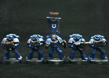 Azul de ultramar 5 marines espaciales pintura de nivel 1 (básica) Warhammer 40k Gamesworkshop