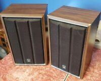 Vintage 1970s Sony SS-310 Wall Speakers Recapped New Terminals