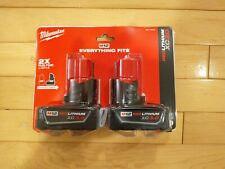 Milwaukee 48-11-2412 M12 Xc High Capacity Battery Pack 3.0Ah (2-Pack)