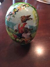 Paper Mache Easter Egg West Germany