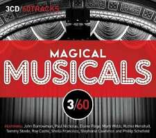 3/60 - MAGICAL MUSICALS 2012 UK 60-track 3-CD box set NEW/SEALED