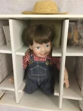 Elke Hutchens Steve Porcelain Toddler Boy Doll Mint in Box