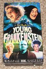 Young Frankenstein VHS Tape In THX Special Edition Mel Brooks Film Gene Wilder