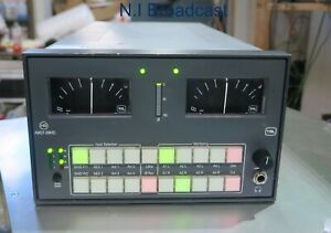 TSL amut-2mhd  half rack audio monitor unit for HDSDI / SDI with ppm and amplifi