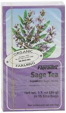 Floradix Sage Organic Herbal Tea - 15 Bags