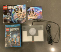 Lego Dimensions Bundle (Nintendo Wii U) NEW Game Disc, Portal Base Pad & Poster