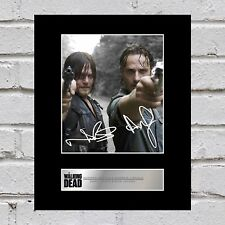 Norman Reedus, Daryl Dixon and Andrew Lincoln, Rick Grimes Signed Walking Dead