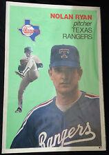 "1992 Nolan Ryan Large Card Poster 36"" x 24""  Rare"