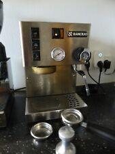 Rancilio Silvia 1100W Espressomaschine - Silber mit Druckmanometer