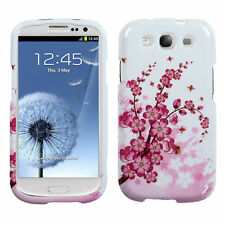 For Samsung Galaxy S III 3 HARD Protector Case Snap Phone Cover Spring Flowers
