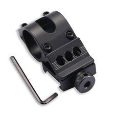 AU 25mm Offset Rifle Scope Flashlight Torch Laser Weaver Picatinny Rail Mount