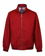 James Pringle Mens Mid Red Zip Up Jacket [2088932RD2L] Size L