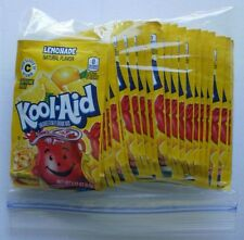 24 packets of KOOL-AID drink mix: LEMONADE flavored UNSWEETENED vitamin c