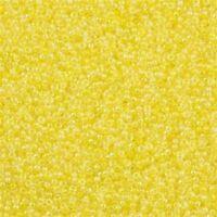 Miyuki 11-273 Yellow Lined AB 12+ grams Seed Bead Rocailles