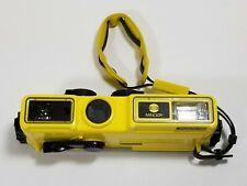 Minolta Weathermatic A 110 Waterproof Underwater Camera Japan