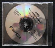 CATERPILLAR 420D BACKHOE LOADER TRACTOR PARTS MANUAL CD SERP 3510-05 MINT SEALED