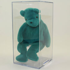 Authenticated TY Beanie Baby - TEDDY TEAL - OLD FACE (No Hang Tag)