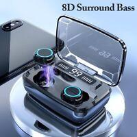 Bluetooth 5.0 Headset TWS Wireless Mini Earphones Earbuds Stereo Headphones USA~