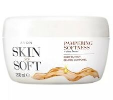 Avon Skin so Soft Pampering Softness Body Butter 200ml X2