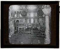 Turkey Turchia Targa Di Proiezione Per Lanterna Magica Vintage Ca