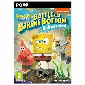 NEW PC game Sponge Bob battle for Bikini Bottom Rehydrated SHIPS TOMORROW