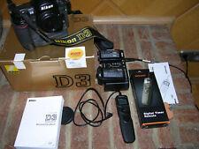 Nikon D3 DSLR Digitalkamera guter gebrauchter Zustand aus Nachlass, geprüft.