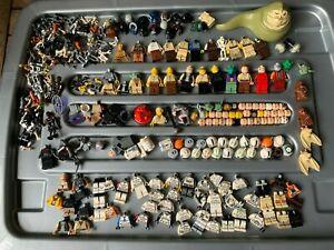 LEGO MASSIVE BULK LOT OF STAR WARS FIGURE PARTS & ACCESSORIES