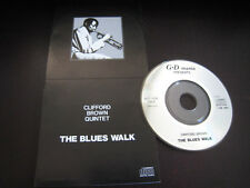 Clifford Brown Quintet The Blues Walk Japan Promo only Mini 3 inch CD Single 3""