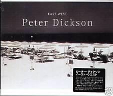 Peter Dickson - EAST WEST - Japan CD OBI  - NEW