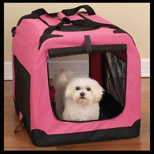 Valentina Valentti Medium Pet Folding Carrier Transport Soft Crate M Size IDC001