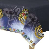 HARRY POTTER PLASTIC PARTY TABLE COVER GRYFFINDOR SLYTHERIN NEW GIFT