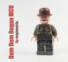 LEGO Custom Dum Dum Dugan MCU Marvel Super heroes captain america mini figure