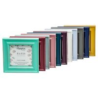 Paloma Shabby Chic 4x4 Square Rustic Distressed Wood Photo Picture Display Frame