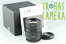 7Artisans 55mm F/1.4 Lens for M4/3 With Box #24905