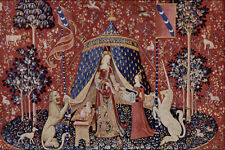 503097 The Lady And The Unicorn Tapestry Musee De Cluny A4 Photo Print