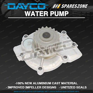 Dayco Water Pump for Chrysler Grand Voyager RT R428 2.8L 2008-2016